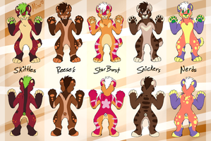 SweetTooth Sabers [DTA] CLOSED - RESULTS ARE OUT by XxWolfArtxX