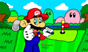 Mario Golf by MarioSimpson1
