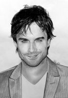Ian Somerhalder aka Damon Salvatore, VD by Mim78