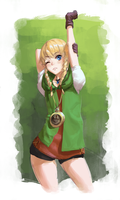 Linkle by AthenaWyrm