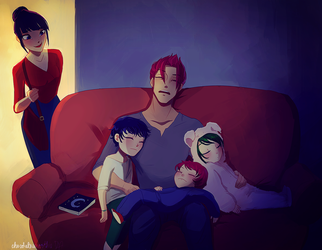 Stay at Home Dad by chocolatesmoothie