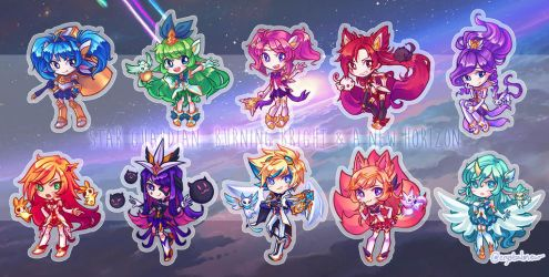 star guardian chibis by crystalmew