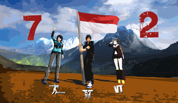 [MMD] Indonesian Independence Day by Kevin-BS23