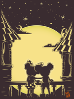 Mickey and Minnie by maxman58