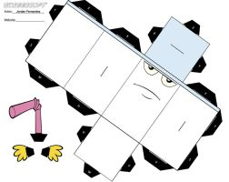 Master Shake Cube Template by jordof131