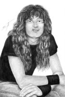 Dave Mustaine XII by AnastasiumArt