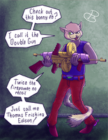 These are your guns on drugs by A-Fox-Of-Fiction