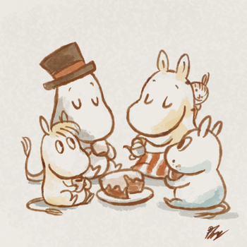 The Moomins by PhuiJL