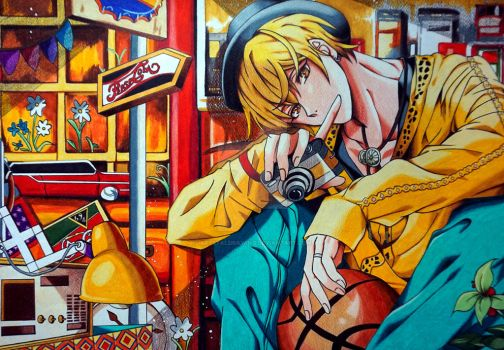 Kuroko no Basket - Kise 2 by Krystal89IT