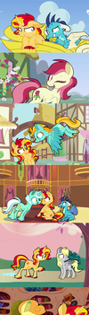 Shimmer Verse: Welcome to Ponyville by Selective-Yellow
