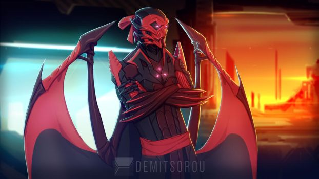The Overseer of Xia by Demitsorou