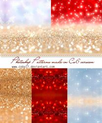 Sparkling Time patterns by Coby17