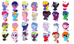 new adoptables CLOSED by Pegasister15
