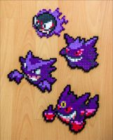 Gastly Evolutions by Aenea-Jones