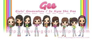 SNSD CHIBI Gee remix perf by squeegool
