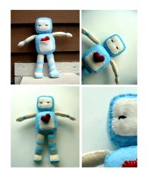 Mr Robot Plushie by nighty