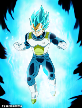 Vegeta  dragonball super by salvamakoto