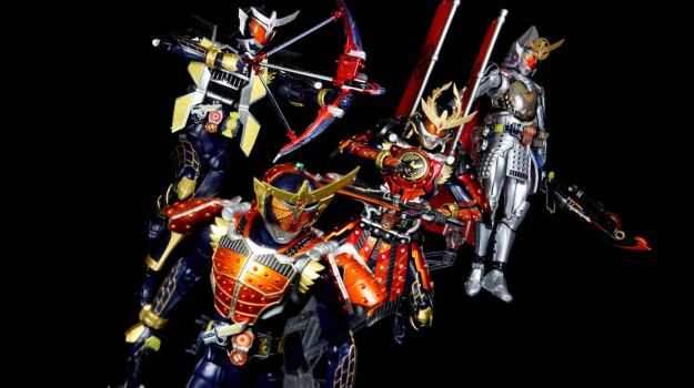 Kamen Rider Gaim - Evolutions by Infinitevirtue