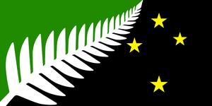 Alternate Flag of New Zealand by Linumhortulanus