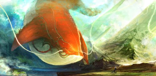 the whale by artcobain