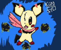 Kiiro the Pichu by QuilavaBurn