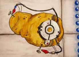 30-Day-Challenge #6: Because I'm a potato! by QuecksilberRose