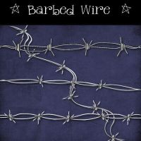 Barbed Wire by Dark-Yarrow