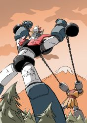Mazinger captive by NachoMon