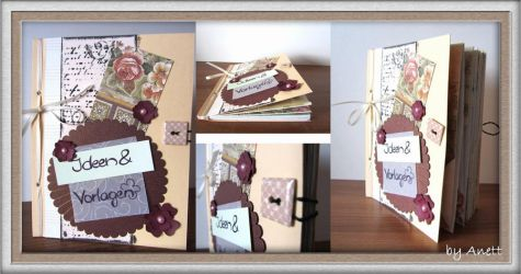 handmade book by Marsie-HST