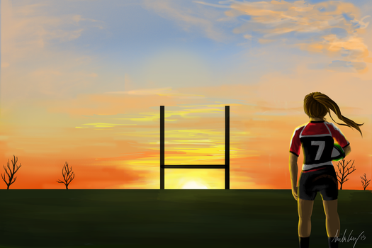 Rugby Sunset by Macwolf95