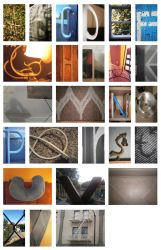 Digi. Photo Class - Alphabet Project by FireheartTheInferno