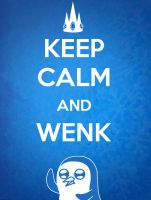 Keep Calm and Wenk by sophie93