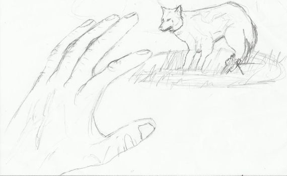 Sketch: Reach out to the Wounded by DareSmithCreations