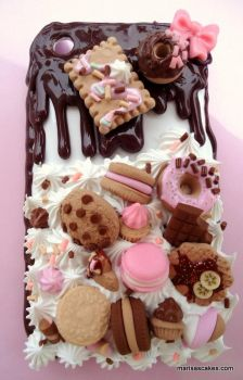 Iphone 3G Sweet Case 2 by PinkCakes