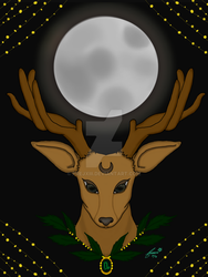 Buck Full Moon 2016 by PrejXIII