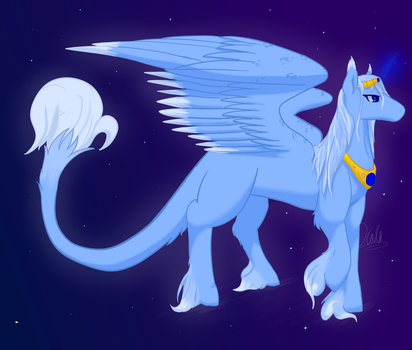 New pony/horse Ref of Halo by TheStarsRedemption