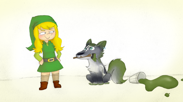 Collab - Legend of Zelder by DragonBlast71