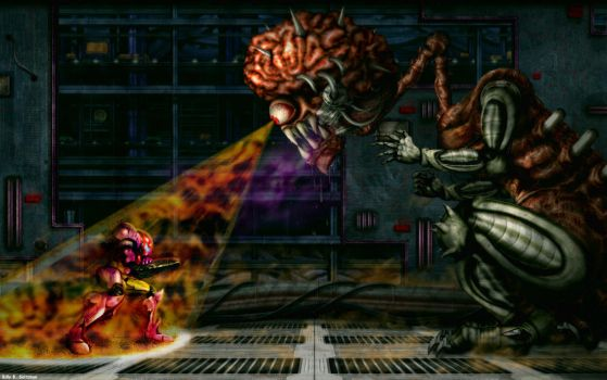 Super Metroid: Final Boss HD by Billysan291