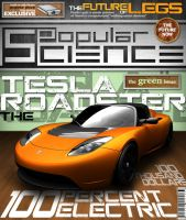 PopSci cover redesign by jKendrick