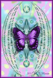 Ann's Butterfly by Mariks-Stock