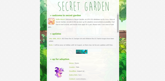 Secret Garden #2 by poundfreeze