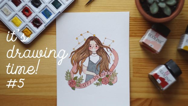 new drawing video on my channel! by Mirrelley