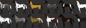 Horse Adopts - OPEN by amberlini