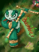 StrongPower Character: Bamber by PalosCheco