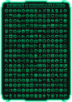 IconPack Neoni Biohazard (last color) by Agelyk