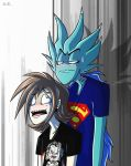 Terrence and Sandora ~ The ego behind me by Plyesdayk