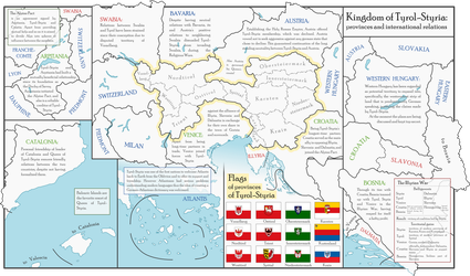 Kingdom of Tyrol-Styria: provinces and relations by Strassenlaterne