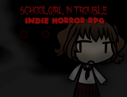 Schoolgirl In Trouble - Menu Test Shot/About Game by Spaztique