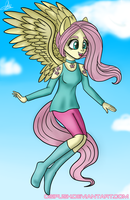 Fluttershy Humanised by Osipush