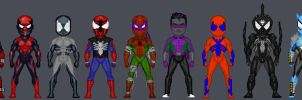Spider-Man Redesign Micros by Orlock